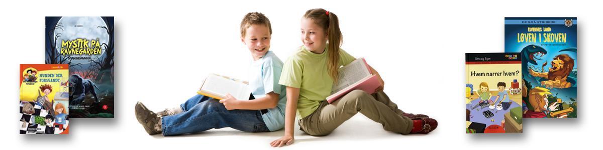 Lette bøger for større børn