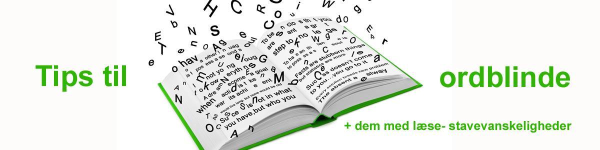 Tips til ordblinde