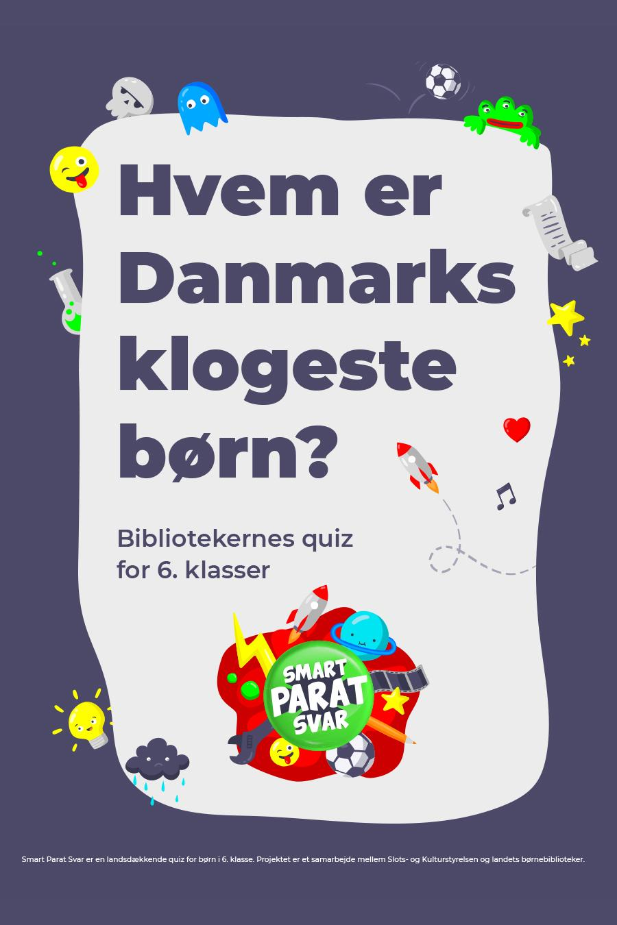 Smart Parat Svar - Danmarks klogeste 6. klasse