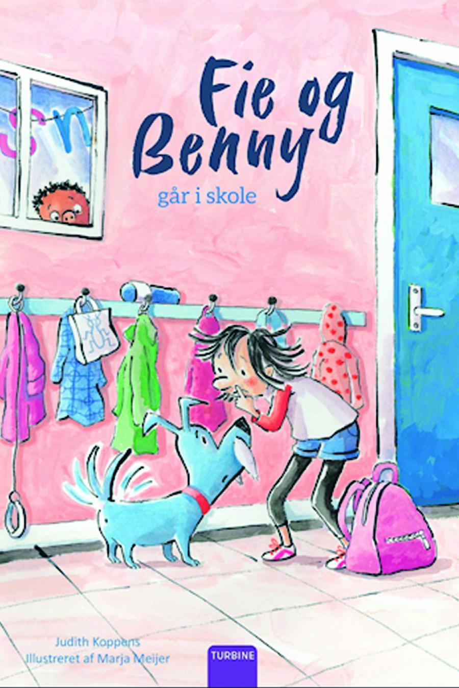 Fie og Benny går i skole
