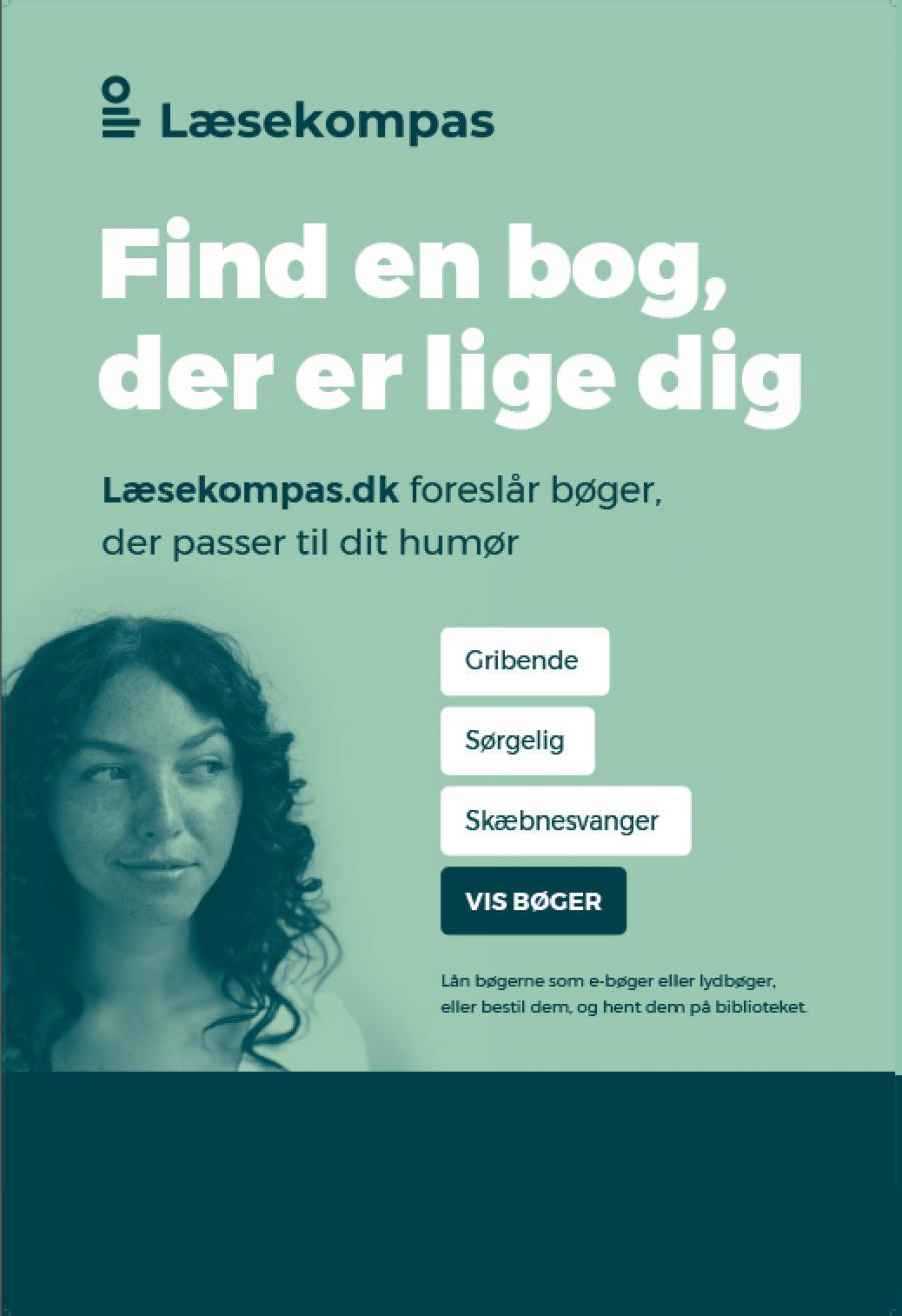 Lad biblioteket inspirerer dig på læsekompas.dk