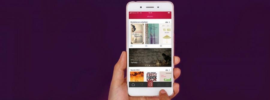 Ny app til e-Reolen til iPhones og iPads.